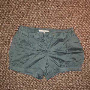 Never worn! Light blue balloon shorts.